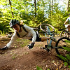 The Bradbury 12 Hour Mountain Bike Race held on 9.19.09 at Bradbury Mountain State Park in Pownal, Maine.  Photograph taken by Portland, Maine based photographer Jeff Scher.